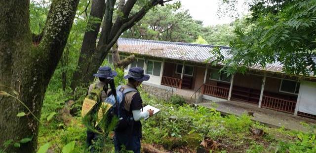 6월 지질명소(의상봉)모니터링 활동사진
